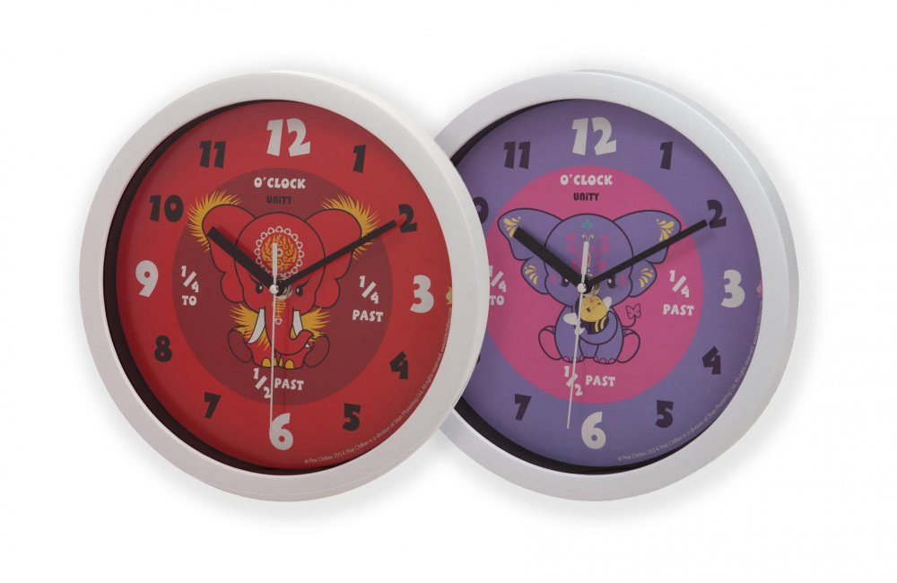 Yara and Da Hong Elephant Wall Clocks