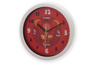 Yara and Da Hong Elephant Wall Clocks Photo - 2